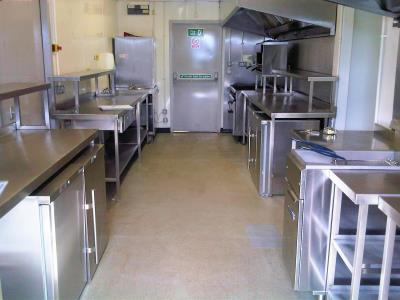 Temporary refurbishment kitchens